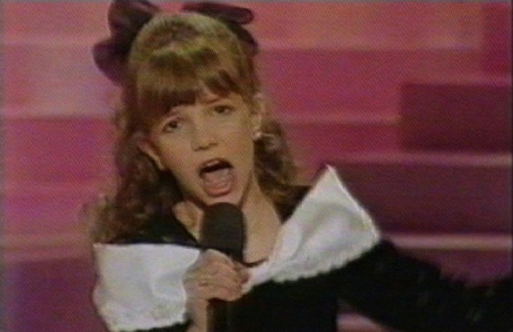 Britney Spears participe à l'émission «Star Search» en 1991. Elle a 10 ans. © ISOPIX
