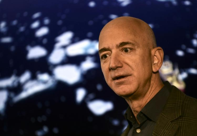 Jeff Bezos en septembre 2019 à Washington