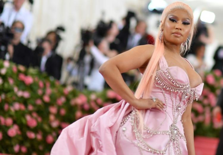 La rappeuse américaine Nicki Minaj en mai 2019 à New York