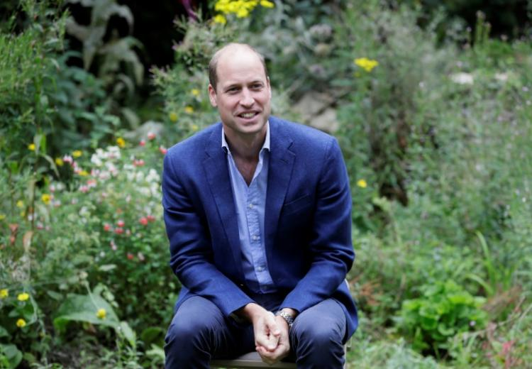 Le prince William à Peterborough, le 16 juillet 2020