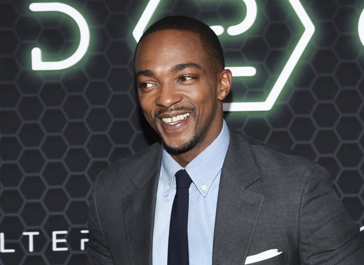 Anthony Mackie à l'avant première de la saison 2 d'Altered Carbon à New York