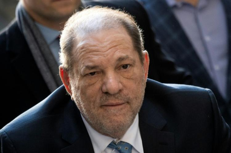 L'ancien producteur Harvey Weinstein, en février 2020 à New York