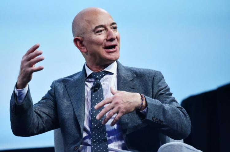 Jeff Bezos à Washington le 22 octobre 2020